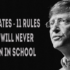 By Reading These 11 Rules Of Bill Gates You Will Never Fail In Your Life