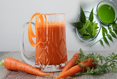 Drink carrot and neem for 1 month and see the result