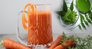 पीएं गाजर और नीम का जूस 1 महीने तक फिर देखें इसका कमाल , Drink carrot and neem for 1 month and see the result