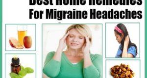 माईग्रेन से सिर दर्द को दूर करने के कुछ घरेलू नुस्खे , Home Remedies for Headache From Migraine
