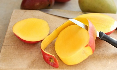 Mango Peels for using Skin Care