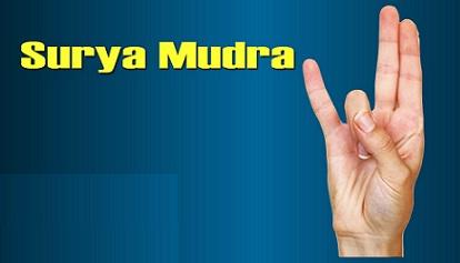 Surya Mudra is Helpful in Loosing Weight