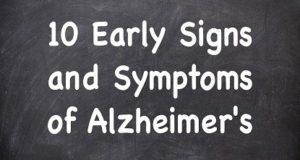 10 Direct Symptoms of Alzheimer – Alzheimer ke 10 Direct Signals