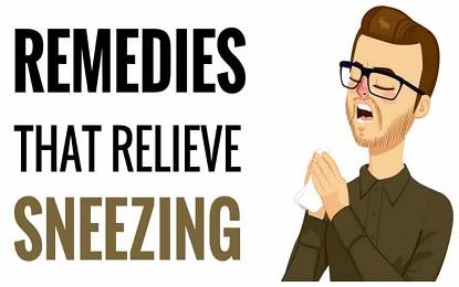 15 Home Remedies to get Relief from Sneezing , अपनाये छींक से निजात दिलाने वाले यह 15 घरेलू नुस्खे