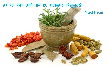 20 All Season Natural Home Remedies for Whole Life , हर पल काम आने वाले